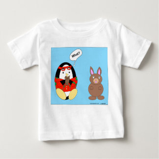 Waddles Chocolate Bunny Infant T-shirt