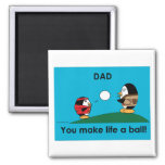 Waddles Father's Day Magnet