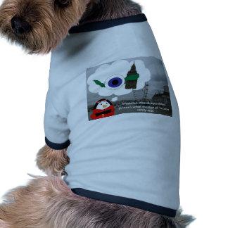 Waddles London Eye Doggie Tshirt