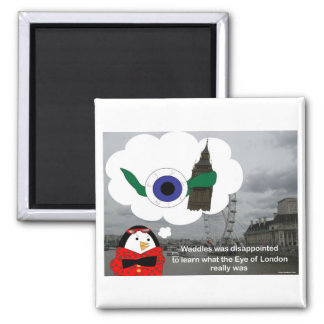 Waddles London Eye Magnet