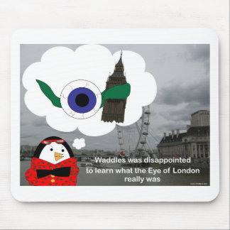 Waddles London Eye Mouse Pad