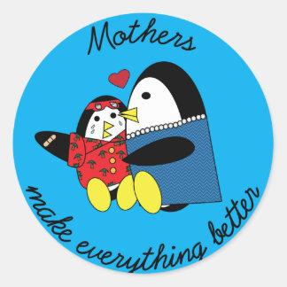 Waddles Mother Sticker
