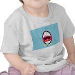 Waddles Shares the Love Baby T-Shirt