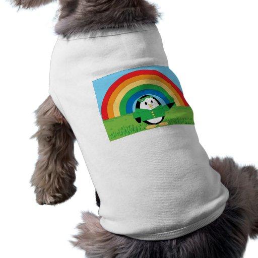 Waddles St. Patrick's Day Dog T Shirt