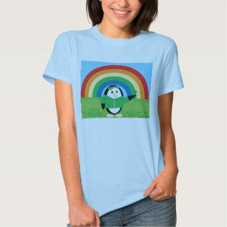 Waddles St. Patrick's Day Ladies' T-shirt