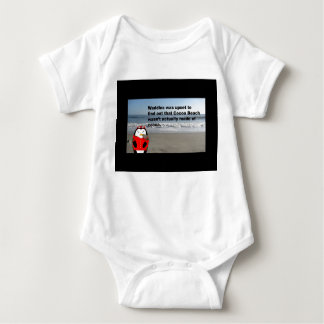 Waddles the Penguin at Cocoa Beach Baby Outfit Baby Bodysuit
