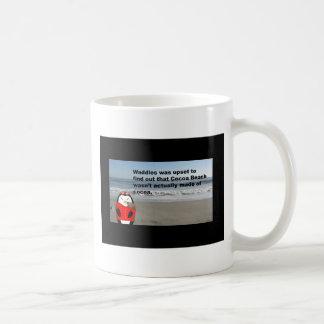 Waddles the Penguin at Cocoa Beach, Florida Coffee Mug