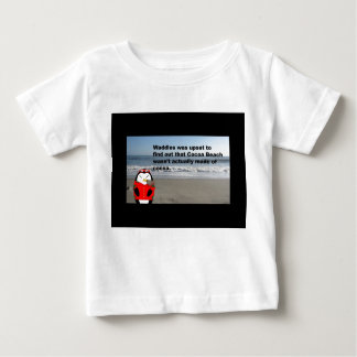 Waddles the Penguin at Cocoa Beach Infant T-shirt