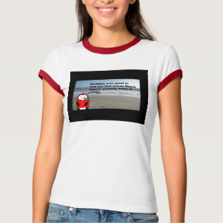 Waddles the Penguin goes to Cocoa Beach, Florida T-shirt