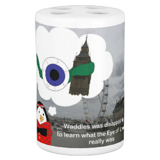 Waddles the Penguin London Eye Soap Dispenser