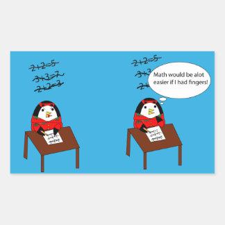 Waddles the Penguin Math Sticker