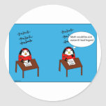 Waddles the Penguin Math Stickers