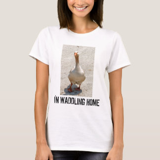 Waddling Goose Woman's T-Shirt
