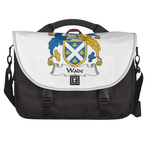 Wade Family Crest Laptop Commuter Bag