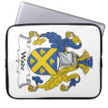 Wade Family Crest Laptop Computer Sleeve