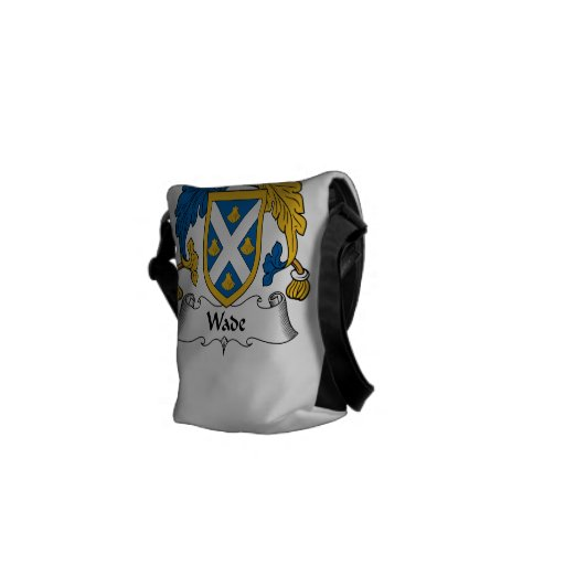 Wade Family Crest Courier Bag
