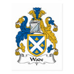 Wade Family Crest Postcard