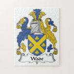 Wade Family Crest Puzzle