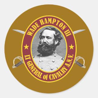 Wade Hampton (AFGM) Classic Round Sticker