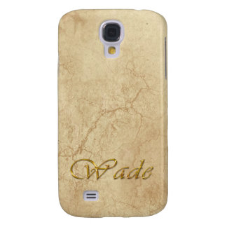 WADE Name Custom Cell Phone Case Galaxy S4 Covers
