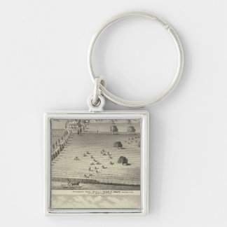 Wade ranch, Weller residence Keychain