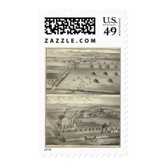 Wade ranch, Weller residence Postage