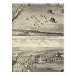 Wade ranch, Weller residence Postcard