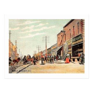 Wade St., Wadesboro, North Carolina Vintage Postcard