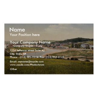 Wadebridge from south, Cornwall, England classic P Business Cards