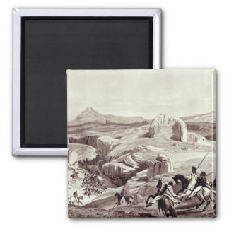 Wadela Plateau , engraved by J.Ferguson Magnet