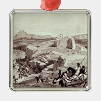 Wadela Plateau , engraved by J.Ferguson Metal Ornament