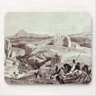 Wadela Plateau , engraved by J.Ferguson Mouse Pad