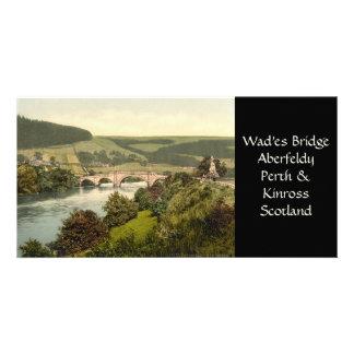 Wade's Bridge, Aberfeldy, Scotland Card