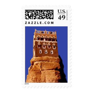 WADI DAHR palace Stamp