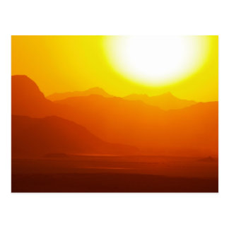 Wadi Rum Desert Jordan Postcard