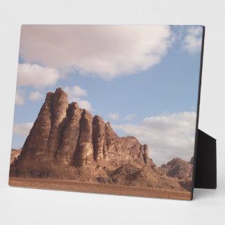 Wadi Rum desert Plaque