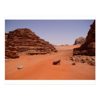 Wadi Rum Desert Postcard