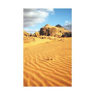 Wadi Rum desert Wrapped Canvas