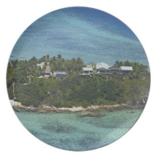 Wadigi Island, Mamanuca Islands, Fiji 2 Melamine Plate