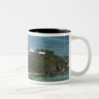 Wadigi Island, Mamanuca Islands, Fiji 2 Two-Tone Coffee Mug