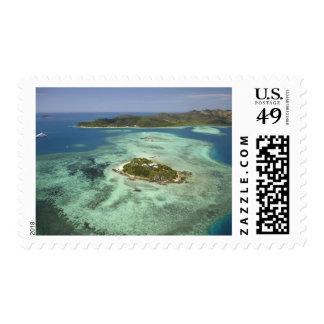 Wadigi Island, Mamanuca Islands, Fiji Postage Stamp