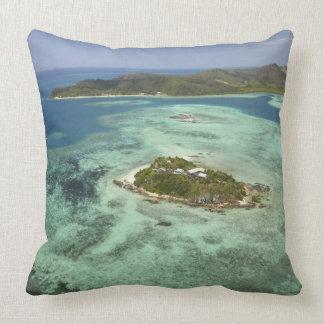 Wadigi Island, Mamanuca Islands, Fiji Throw Pillow
