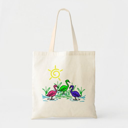 Wading Birds Tote Bag
