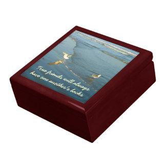 Wading Gulls Friendship Jewelry Box