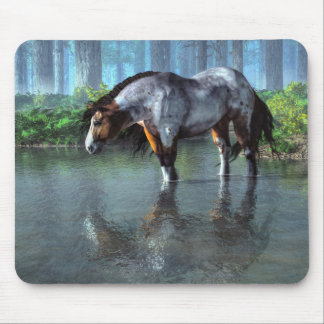 Wading Horse Mouse Pad