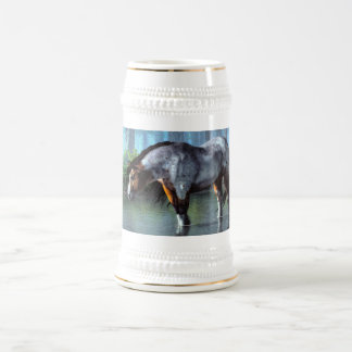 Wading Horse Mug