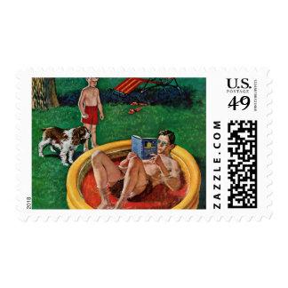 Wading Pool Postage