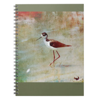 Wading Stilt Spiral Notebook