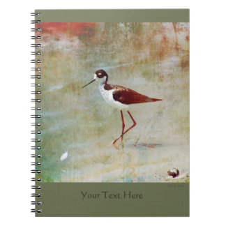 Wading Stilt Spiral Notebook 2