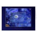 WADJET EYE OF HORUS Fantasy Card Design